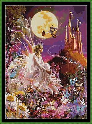 Tapestry Chart ( Pattern ) - FAIRY DREAMS *CD Delivery*
