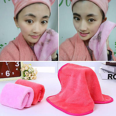 Microfiber Cloth Face Towel Exfoliate Makeup Remover Repeat Use Chemical Free