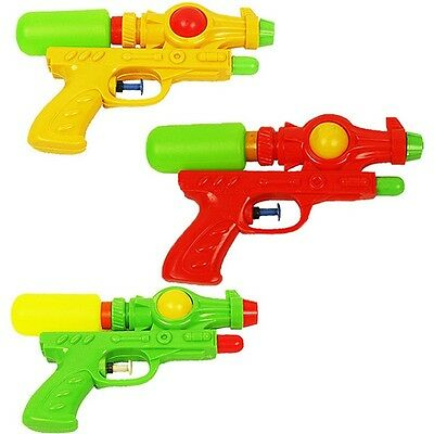 Random Children Water Gun Kids Beach Play Pistol Plastic Squirt Toys Outdoor Fun