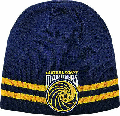 Central Coast Mariners Reversible Beanie- 100% Official A-League Product