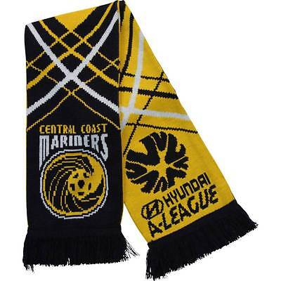 NEW- Central Coast Mariners Supporters Scarf- 100% Official Licensed Product