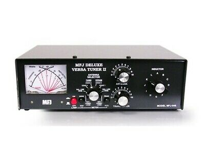 ANTENNA TUNER - MFJ-948 - 1.8 TO 30MHz 300W (DELUXE MANUAL TUNER)