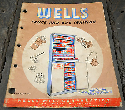 HTF 1960 Wells-Capac USA Truck and Bus Ignition Catalog 52 Pages
