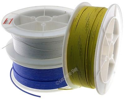 5 metres super flexible 12AWG Silicone Wire RED BLACK BLUE you pick