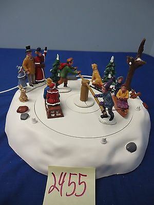 Lemax Village Collection Victorian Ice Merry Go Round 44773 As-Is 2455