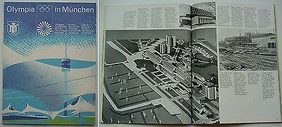 Orig.PRG / Official preview  Olympic Games MÜNCHEN 1972  // Edt. 3 from 1971  !!