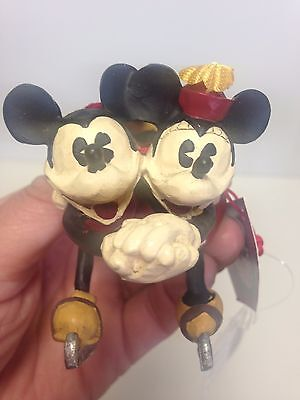 Mickey & Minnie Mouse Ornaments Lot of 2