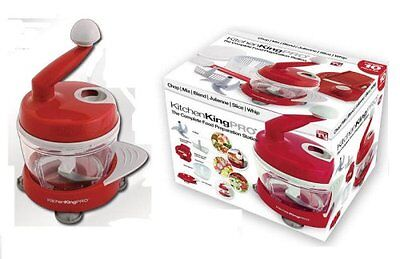Kitchen King Pro 11-piece Ultimate Food Preparation Station