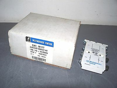Westinghouse Auxiliary Contact Kit W11T *nib*