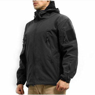 Men's Army Military Special Ops Softshell Tactical Jacket S-XXL GA010A