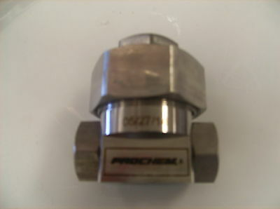 Prochem Stainless Steel Chemical Pump, # 791173