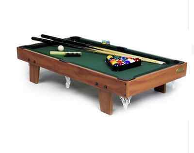 NEW Gamesson 3ft Pool Table Snooker Billiards Tables Kids Ball Games Toys Tables