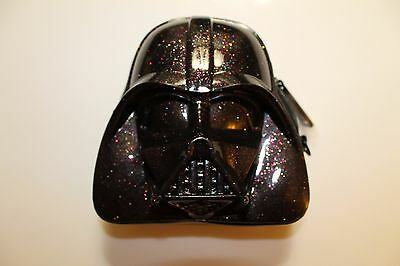 SDCC 2015 Loungefly Exclusive Star Wars GLITTER DARTH VADER COIN PURSE new bag