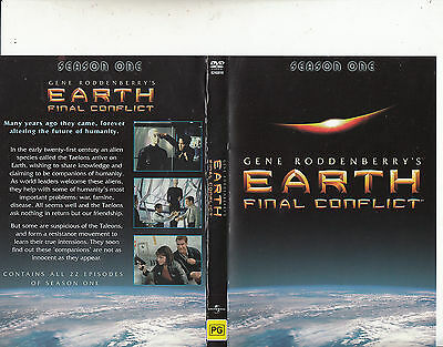 EARTH:FINAL CONFLICT-1997/02-TV SERIES USA-Season One-[6 Disc Set]-DVD