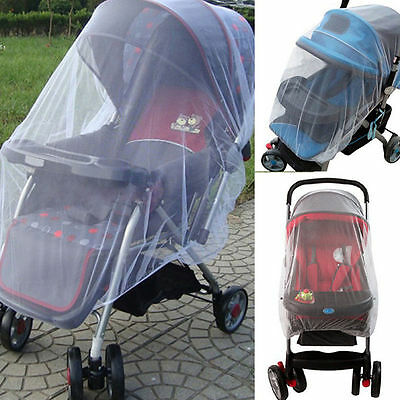 Infant Baby Stroller Pushchair Mosquito Insect Net Safe Mesh Cover Good Quality