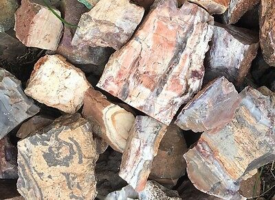 Banded Striped Chert Rough 5lb Bag/ natural raw stones/ Cab Slab rough