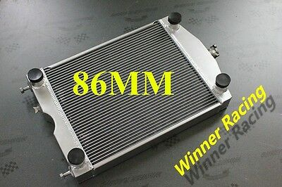 3 ROW 86MM Aluminum Alloy Radiator Ford 2N/8N/9N tractor w/flathead V8 engine