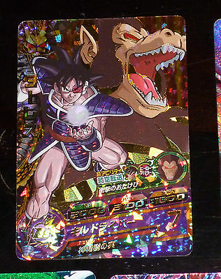 Dragon Ball Z Gt Dbz Heroes Galaxy Mission Card Prism Carte Hg5-Cp8 Cp Jap Nm--