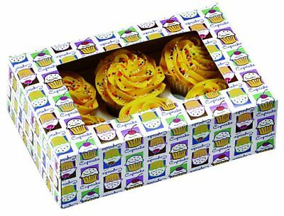 Wilton 2pk Cupcake Heaven Box for Six Standard Cupcakes Decoration Transport