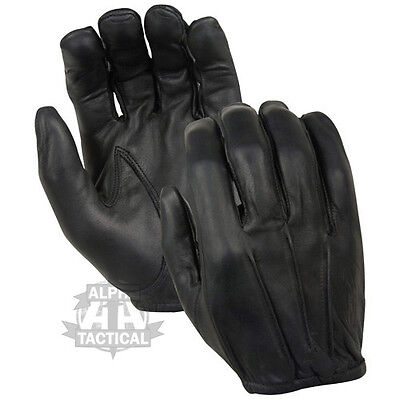Kevlar Anti Slash Leather Gloves Security Black Flame Fire Resistant Sia