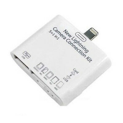 5in1 USB Camera Connection Adapter Kit SD Card Reader for iPad 4 Mini Air BJC