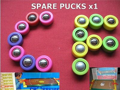 Classic Ideal / MB GAMES CROSSFIRE game - Spare PUCK / BALL BEARING 1970s / 80s