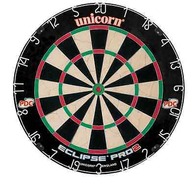 Unicorn Eclipse Pro 2 Dartboard - The Newest Version of this Popular Dartboard