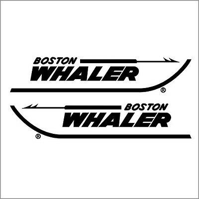 """Liquidation - Boston Whaler 18""""5 Decals Factory Sized Hull Replacement Stickers"""