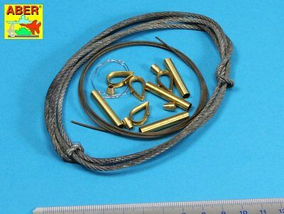 Aber tow cables and track cable for Tiger 1, King Tiger and Panther 1/16 scale
