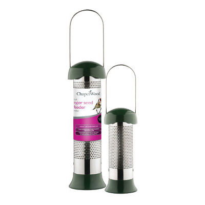 NEW Style Nyjer Seed Feeder Small Chapelwood Bird Care