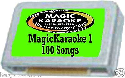 Teens POP1 100 SONGS magic sing song chip. for Magic Sing /Leadsinger Entertech