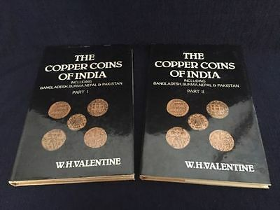 The Copper Coins Of India Part I And Part II By W.H. Valentine