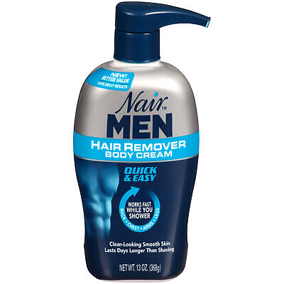 Nair Men Hair Removal Body Cream 13 oz (368 g) Each
