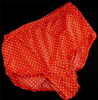 NEW The Original Fancy Pants Red w White Polka Dots 2 Dual Tennis Ball Pockets