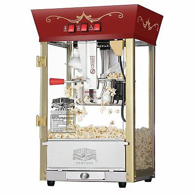 Commercial Popcorn maker Popper Machine Movie Theater 8 oz Kettle Antique Style