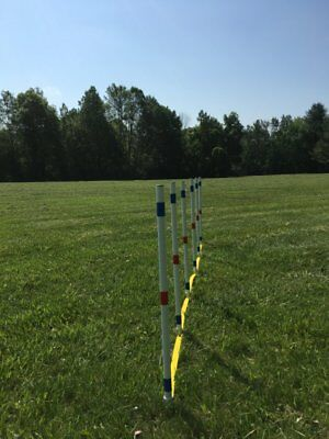 Dog Agility Equipment Stick in the Ground Weave Poles