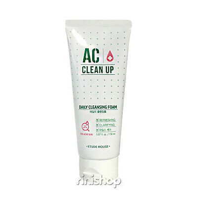 [ETUDE HOUSE] AC Clean Up Daily Cleansing Foam 150ml Rinishop