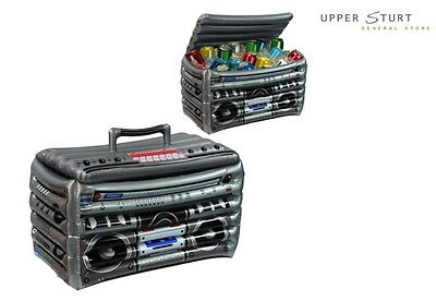 Inflatable Boom Box Cooler Party Supplies. FAST 'N FREE DELIVERY