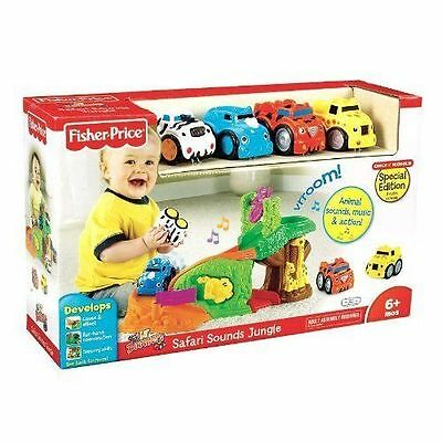 Fisher Price Lil' Zoomers Safari Sounds Jungle - New!   6+ mos