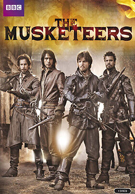 The Musketeers . The Complete Series One . Season 1 . 4 DVD . NEU . OVP