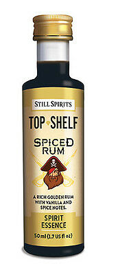 Still Spirits Top Shelf Spirit Essences SPICED RUM