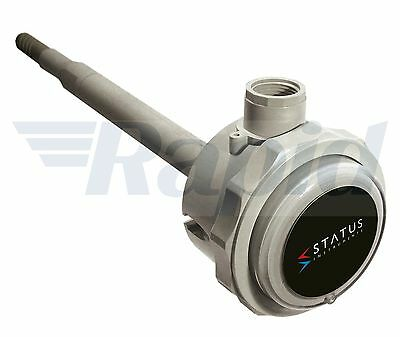 Status SEM162D/HP02 250mm Duct Mount Dual Channel RH/Temperature Transmitter