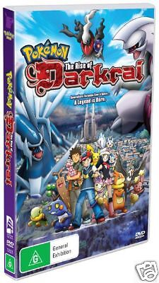 POKEMON THE RISE OF DARKRAI =Movie 10= NEW & SEALED DVD (Region 4 Australia)