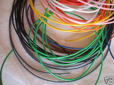 12 Metres Equipment Wire Cable 7 /0.2 Stranded  1.4Amp  - CUT LENGTH