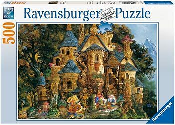 Ravensburger - Magical Knowledge College 500 pieces Puzzle * NEW jigsaw