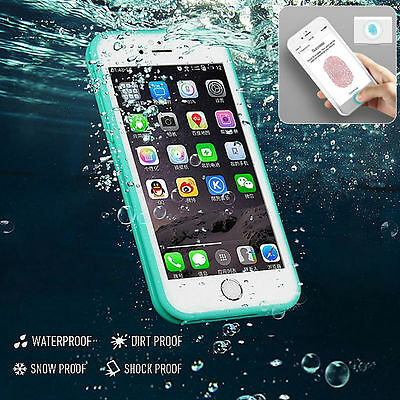 Waterproof  Shockproof Hybrid Rubber TPU Phone Case Cover For iPhone 7 6 6 Plus
