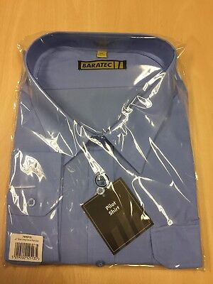 BRAND NEW With Tags Light Blue Long Sleeve Pilot Shirt
