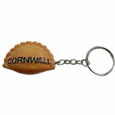 Kernow Cornwall Cornish Pasty Keyring Collectible Souvenir, Father's Day