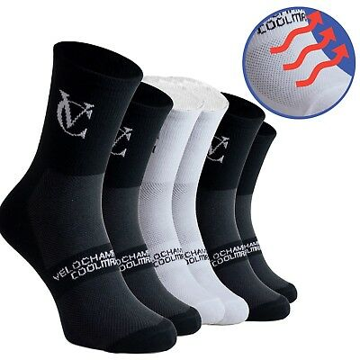 3x Speed Line Coolmax Breathable Cycling Socks Pack Pairs Mountain Bike Road