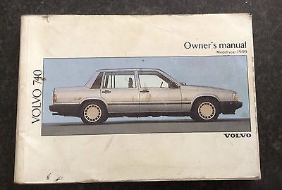 Volvo 740 owners manual